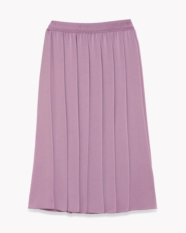 【Theory】Satin Vintage Gathered Skirt