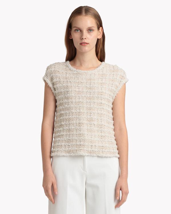 【Theory】Tweed Knit Sophia
