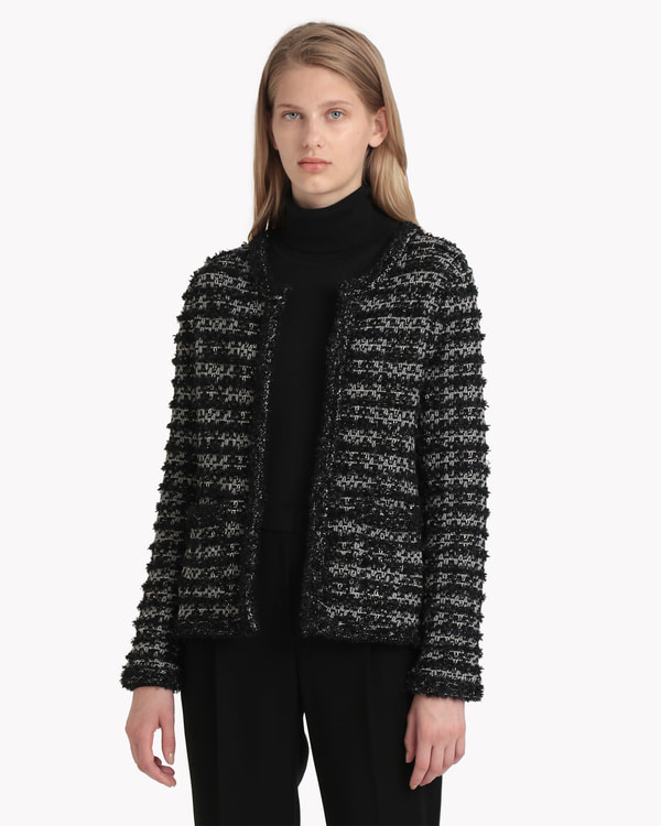 【Theory】Tweed Knit Audrey