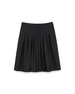 <Theory セオリー>送料無料【スモール】Executive Aiden Str【SMALL SIZE】【小さいサイズ】前身頃のみにソフトプリーツを施したフレアースカート。