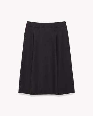 <Theory セオリー>送料無料Executive Shella【新色チャコールグレー登場】フロントにタックの入った新型フレアスカート。