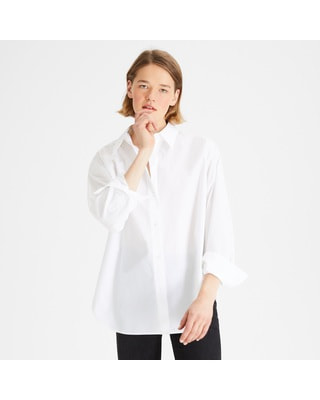 <Theory> 送料無料 Broome Cotton Relaxed Buttondown