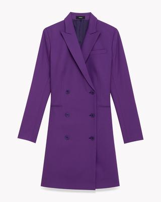 <Theory> 送料無料 Traceable Wool Blazer Dress