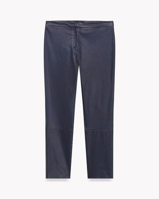 <Theory> 送料無料 Bristol Leather Classic Skinny L