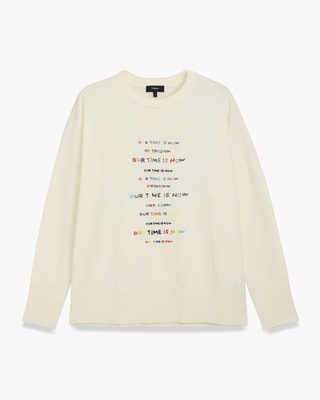<Theory> 送料無料 Charmant All Over Front Embroidery PO