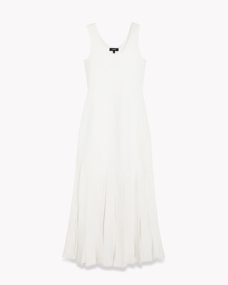 <Theory> 送料無料 Prosecco Pleated Tank Dress