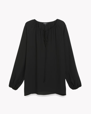 <Theory> 送料無料 Classic GGT Gathered LS Top