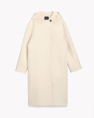 <Theory> 送料無料 Doubleface Wool Clean Duffle Coat