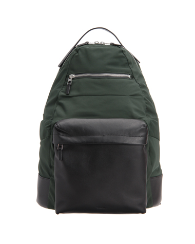 <Theory> 送料無料 異素材を切り替えたシンプルなバッグパック Fuel Canvas Nylon Backpack