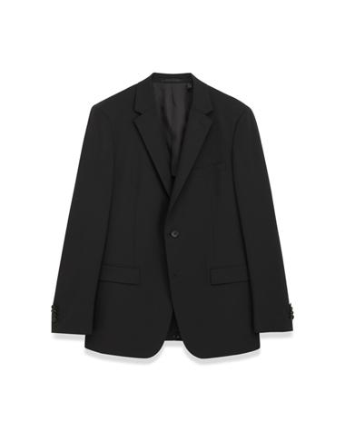 <Theory> 送料無料 ラペルが細めですっきりとしたシルエットのジャケット New Tailor Wellar HL A 背抜き