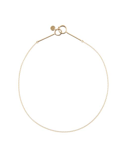 送料無料 チェーンの華奢さが女性らしい印象のブレスレット Saskia Diez Ultrafine Bracelet