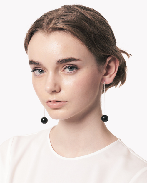 【Theory】Saskia Diez Wood Earrings