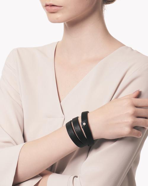 【Theory】Saskia Diez Leather Bracelet