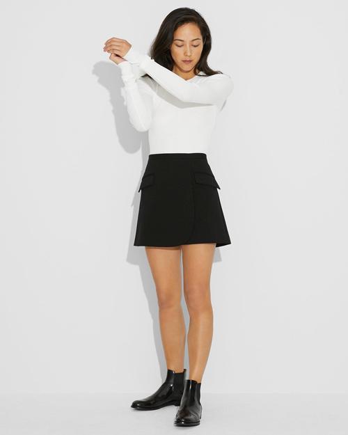 【Theory】Monroe Ponte Mini Skirt