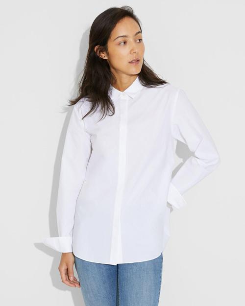 【Theory】Broome Cotton Bf Shirt