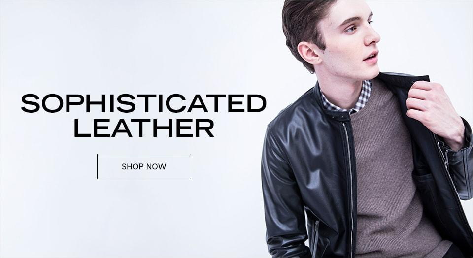 SOPHISTICATED LEATHER