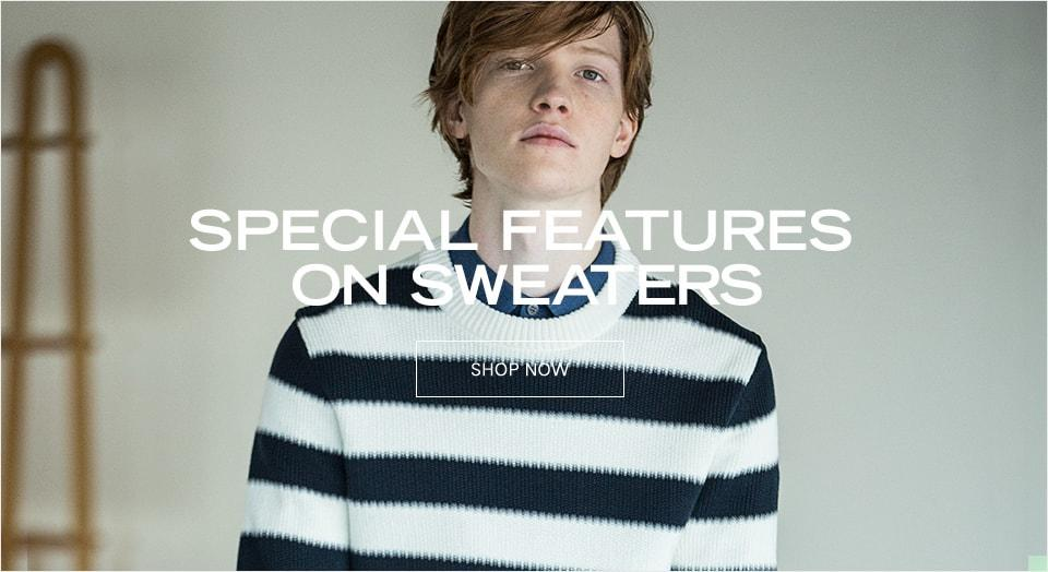 SPECIAL FEATURES ON SWEATERS