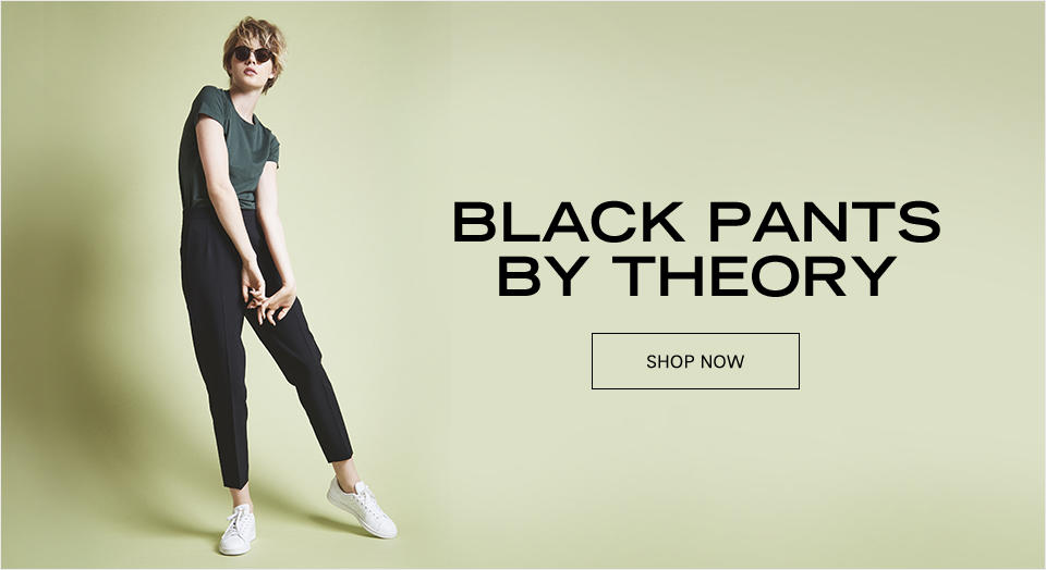 Black Pants by Theory