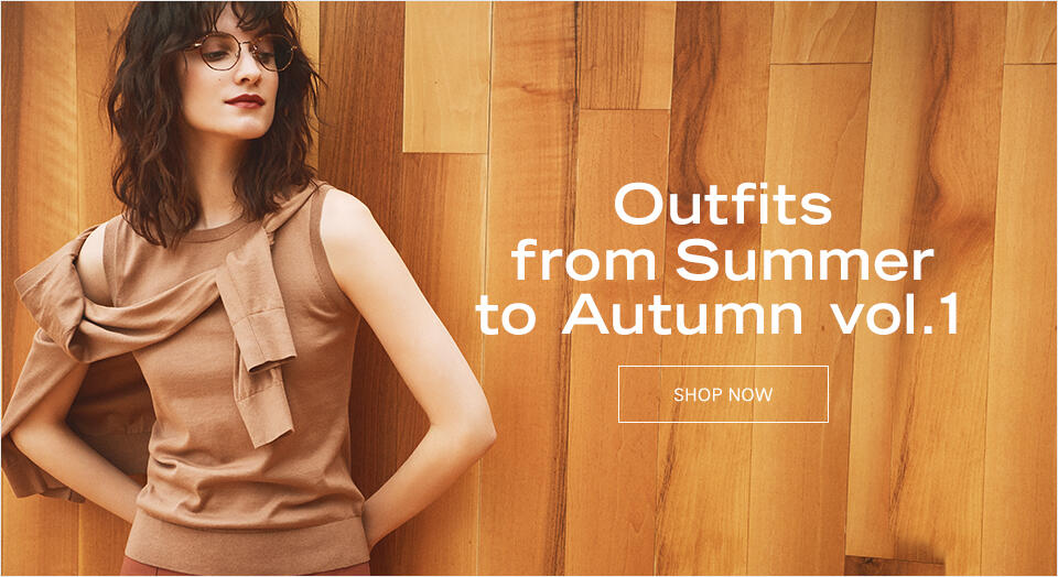 Outfits from Summer to Autumn vol.1