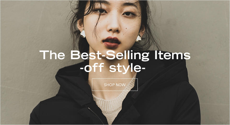 The Best-Selling Items - off style -